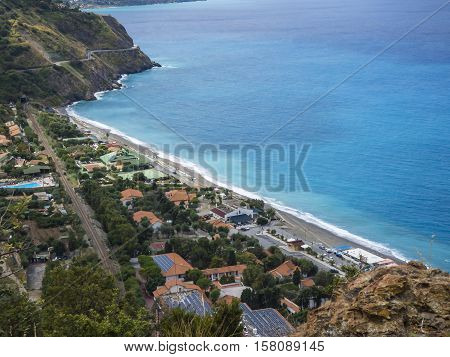 Gulf of Capo Calava at Sicily at Italy