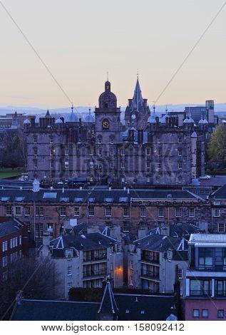 Edinburgh Skyline