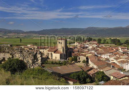 Santa Gadea del Cid in Burgos province Castilla-Leon Spain