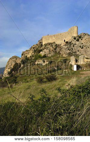 Las Rojas Castle La Bureba Burgos province Castilla-LeonSpain