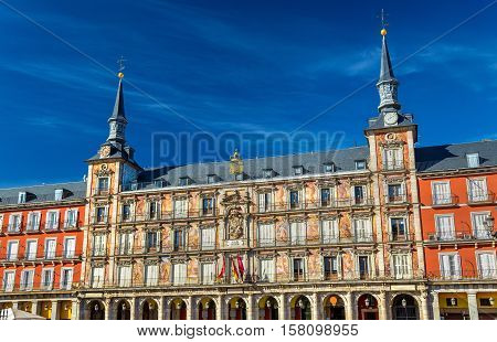 Casa de la Panaderia on Plaza Mayor in Madrid - Spain