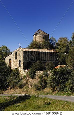 Church of Sant Julia de Pedra Pedra Cerdanya Girona province Spain