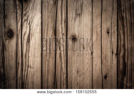 Background of old natural wooden planks