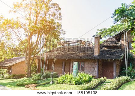 Residential Brick House