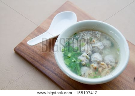 Rice Boiled With Pork