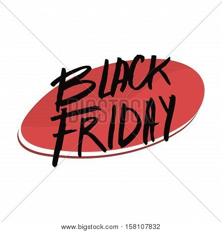 black friday badge with text for sales