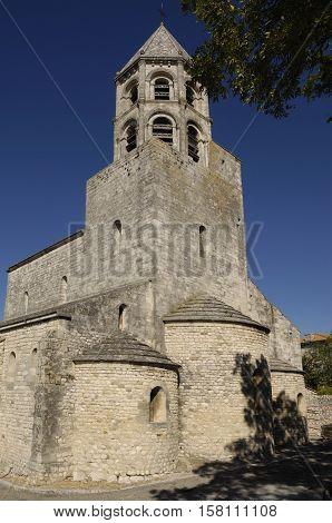 Church of La Garde-Adhemar Rhone-Alpes Ardeche France