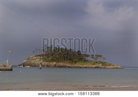 Island of San Nicolas Lekeitio Basque Country Spain