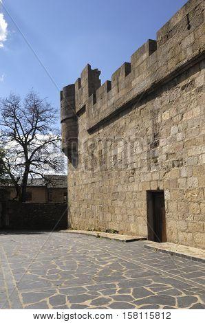 Castle of Puebla de Sanabria Zamora province Castilla y Leon Spain