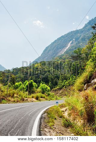 The Road On The Langbian Plateau To Da Lat City (dalat) In Vietnam