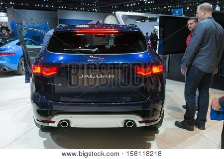 Jaguar F-pace On Display