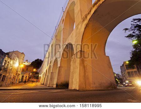 Lapa Arches In Rio