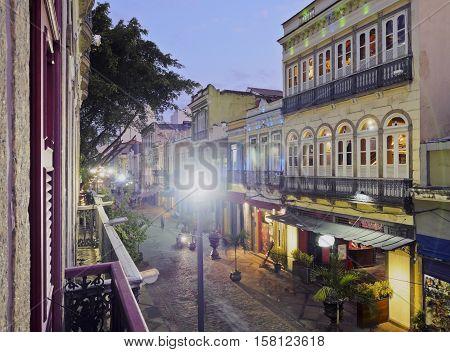 Lavradio Street In Lapa, Rio De Janeiro