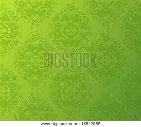 Wallpaper flower background. Vector