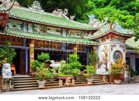 Main View Of The Linh Ung Pagoda, The Marble Mountains, Vietnam