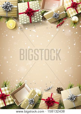 Christmas Luxury Background