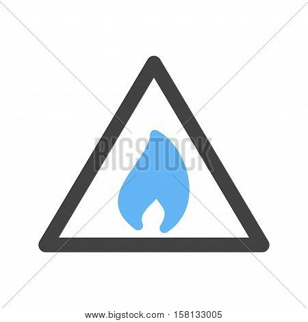 Flammable, fire, sign icon vector image. Can also be used for warning caution. Suitable for use on web apps, mobile apps and print media.