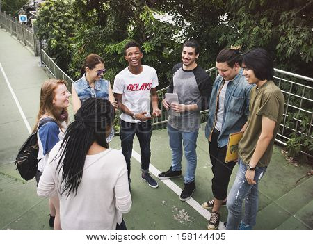 People Friendship Togetherness Hangout Youth Culture