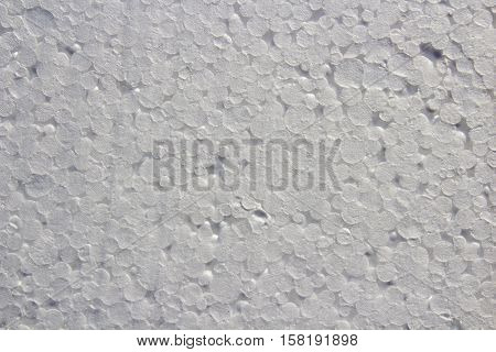 new white abstract texture for background Styrofoam