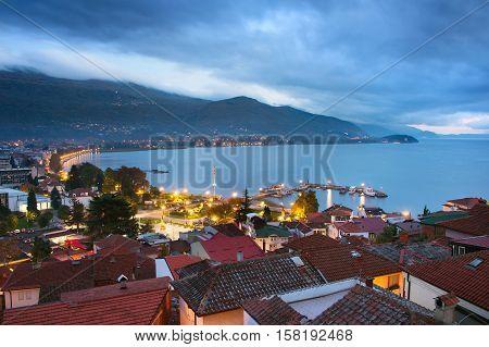 Ohrid City On A Lake