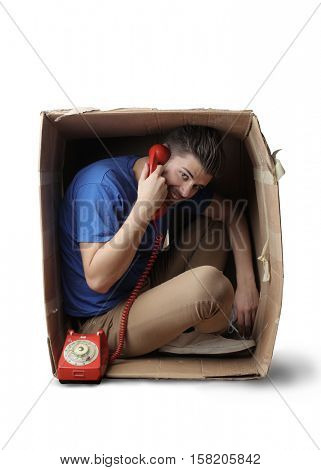 Phone call from the box
