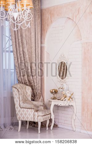 Classical Interior Design Of Living Room