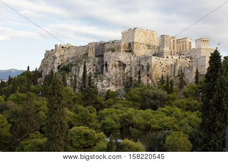 View at The Acropolis of Athens, Greece
