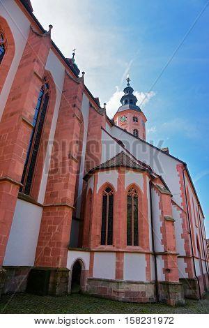 Baden Baden Church Stiftskirche  Germany