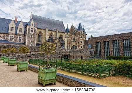 Chapel Of Chateau Angers In Loire Valley Of France