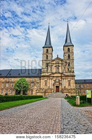 Church Of Saint Michael Of Bamberg In Upper Franconia Germany