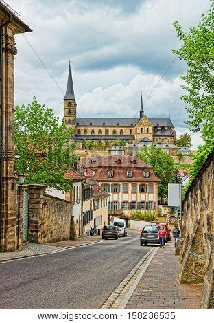 Church Of St Michael In Bamberg Upper Franconia Germany