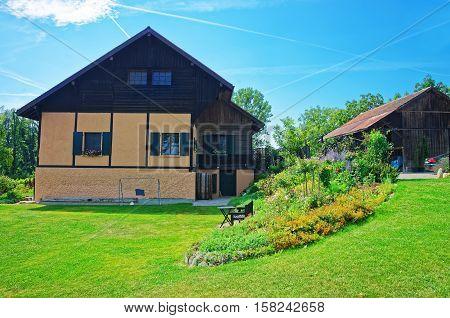 House In Yverdon In Jura Nord Vaudois Vaud Switzerland