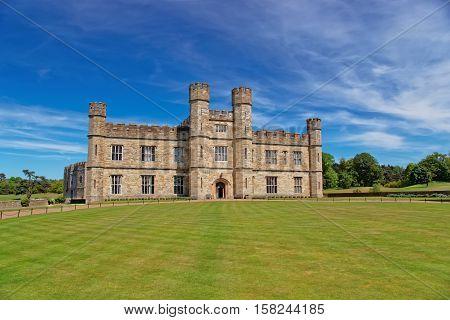 Leeds Castle In Kent Uk