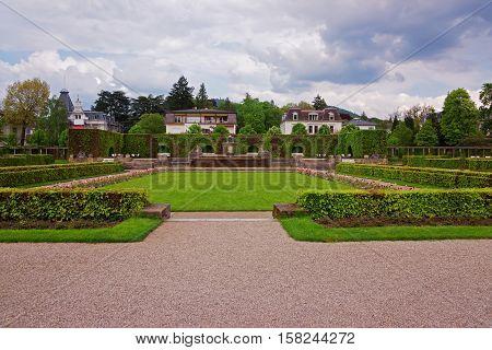 Lichtentaler Allee Park In Baden Baden Germany