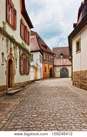 Old Houses In Bamberg City Center Germany