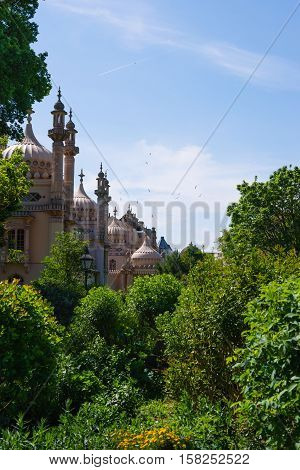 Royal Pavilion In Brighton In East Sussex The Uk