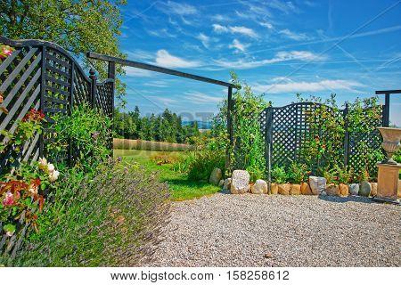 Village Gate In Yverdon In Jura Nord Vaudois Vaud Switzerland