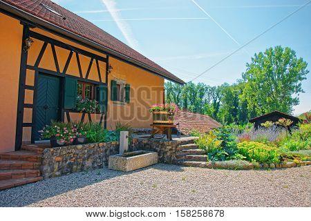 Village House In Yverdon Jura Nord Vaudois Vaud Switzerland