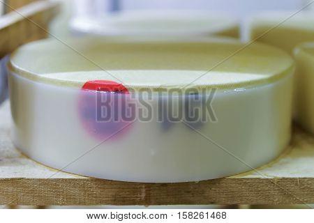 Young Gruyere De Comte Cheese Burgundy