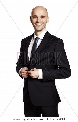 Man In Black Suit Smiling To You