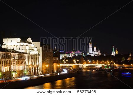 View Of The Towers Of Kremlin