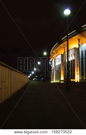 Stadium In The Evening In City Center
