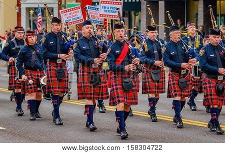 Veterans Day Parade 2016