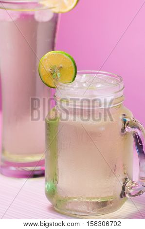 iced fresh lime water can quench your thirst