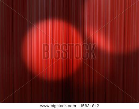 Spotlight In The Theater