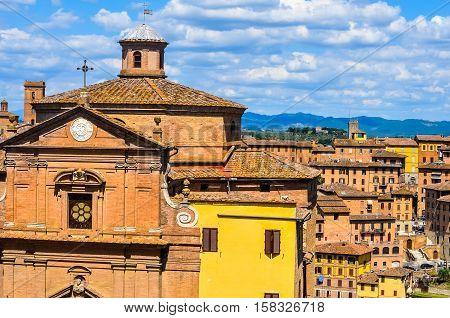 Hdr San Giuseppe Onda Church In Siena