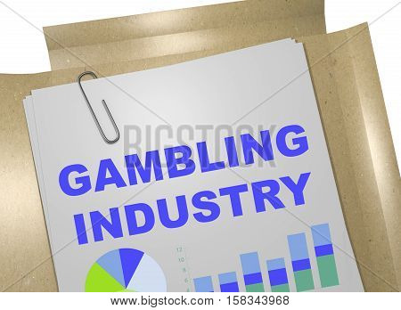 Gambling Industry Concept