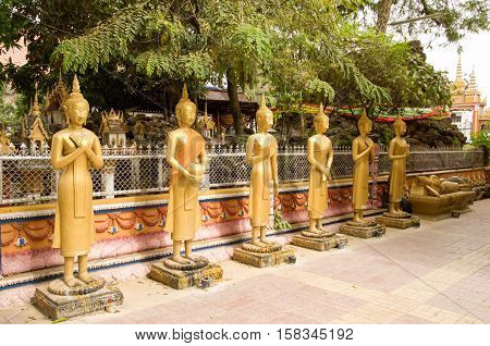 Buddhist temple located in Vientiane, the capital of Laos