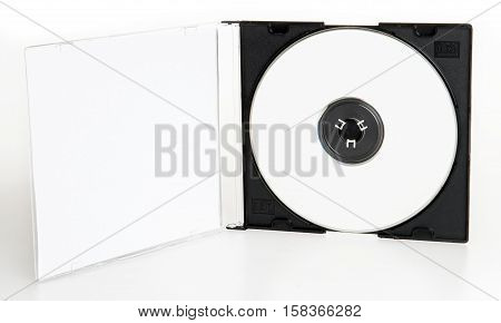 Blank CD or DVD and a blank CD or DVD case