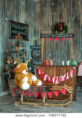 Room Christmas Tree Xmas Home Interior Decoration Toys